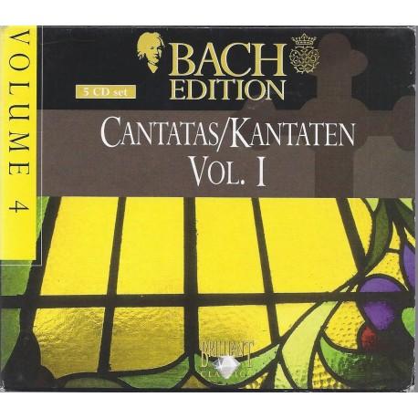 Bach. J.S. - Cantatas/Kantaten, volume I