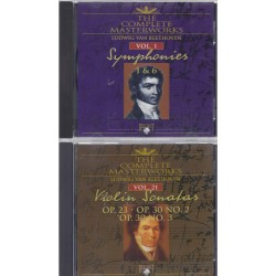 Ludwig van Beethoven, 40 CD alle werken