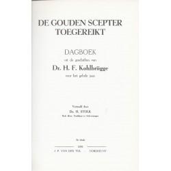 Kohlbrugge, Dr. H.F. - De gouden scepter toegereikt