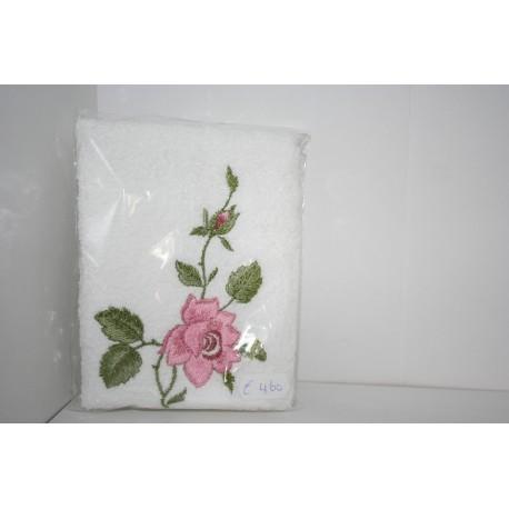 Gastendoek voor toilet, bloemmotief