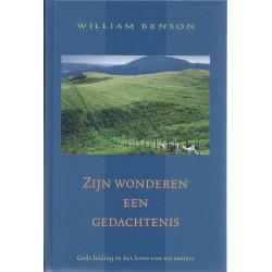 Benson, William - Zijn wonderen een gedachtenis