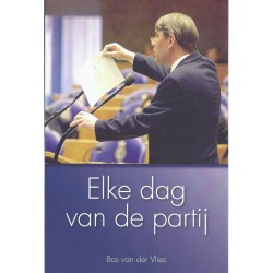 Vlies, Bas van der - Elke dag van de partij