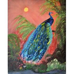 De Pauw, olieverf schilderij op linnen gemaakt door kunstschilder Henraat