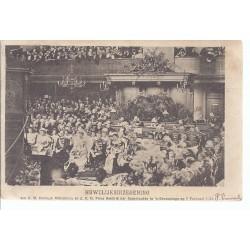 Ansichtkaart Huwelijksinzegening Kon. Wilhelmina 1901