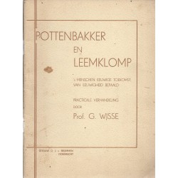 Wisse, Prof. G. - Pottenbakker en leemklomp