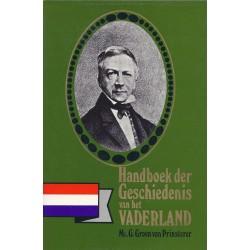 Handboek Geschiedenis Vaderland 1,2 - Mr. G. Groen v Prinsterer