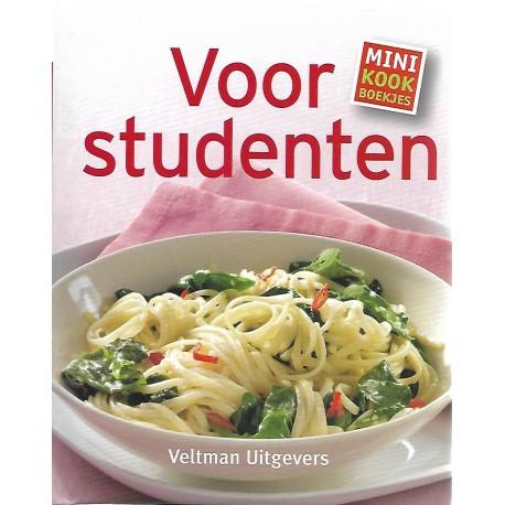 Voor studenten - minikookboekjes