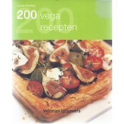 200 Vega recepten - Louis Pickford - Veltman uitgevers