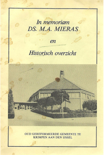 Mieras, Ds. M.A. - In...