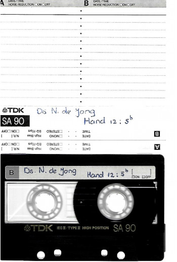 Jong, Ds. N. de  -...